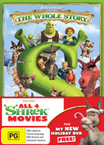 Shrek : The Whole Story (Shrek 1-4) (inc Shrek Forever After / Donkey's Christmas Shrektacular) - Kathy Griffin