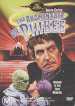 The Abominable Dr. Phibes : Revenge Is The Best Medicine - Vincent Price