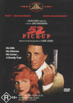 52 Pickup : His Wife - His Mistress - His Career... A Deadly Trap - Roy Scheider