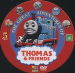 The Great Adventures of Thomas and Friends : Thomas the Tank Engine DVD Set - Britt Allcroft