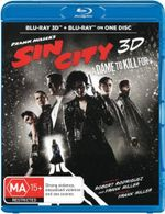Sin City 2 : A Dame to Kill For (3D Blu-ray) - Mickey Rourke