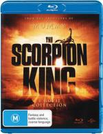 Scorpion King 1 - 4  : (The Scorpion King/ TSK 2: Rise Of A Warrior/ TSK 3: Battle For Redemption/TSK 4: Quest For Power - Dwayne Johnson