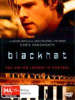 Blackhat (DVD/UV) - Chris Hemsworth