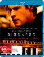 Blackhat (Blu-ray/UV) - Wang Leehom