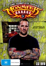 Monster Garage : The Complete Series (Box Set) - George Barris
