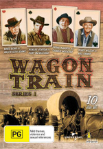 Wagon Train : Series 1 - 10 Disc Set - Robert Horton