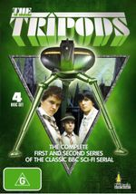 The Tripods : The Complete First And Second Series Of The Classic BBC Sci-Fi Serial  - John Shackley