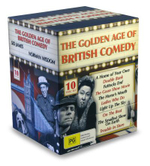The Golden Age Of British Comedy : 10 Disc Set - Benny Hill