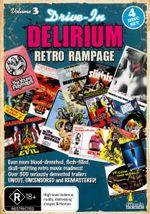 Drive-In Delirium : Volume 3 - Retro Rampage - Various