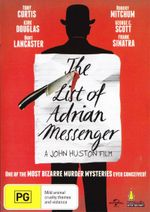 The List of Adrian Messenger - Tony Curtis