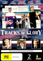 Tracks of Glory : A Race Against Prejudice - The Remarkable True Story - Robert Vaughn