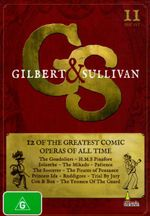 Gilbert and Sullivan Collection : 12 of the Greatest Comic Operas of all Time (11 Discs) - Peter Allen