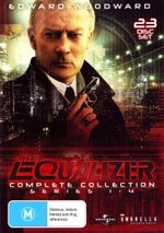 The Equalizer : Complete Collection - Series 1 - 4 - Robert Lansing