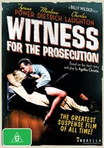 Witness For The Prosecution - Tyrone Power