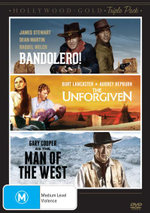 Hollywood - Gold : Bandolero / The Unforgiven / Man of the West - Dean Martin