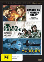 Hollywood - Gold : Attack on the Iron Coast / The Devil's Brigade / Morituri - Lloyd Bridges