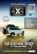 Queensland 4X4 Collection 5 DVD Set : Your Complete QLD Adventure Pack - Pat Callinan