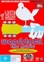 Woodstock : The Music (2 Discs)