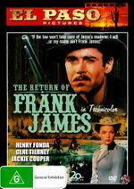 El Paso : Return of Frank James - Gene Tierney