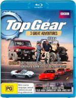 Top Gear : 3 Great Adventures - South America, Romania and Bonnewille, USA - James May