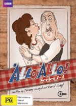 'Allo 'Allo! : Volume 1 - Series 1 - 4 - Gordon Kaye