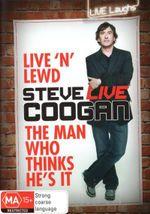 Steve Coogan : Live N Lewd/The Man Who Thinks He's It - Steve Coogan