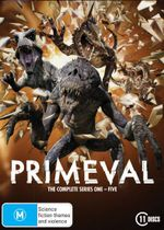 Primeval : Series 1 - 5 (Complete Series) - Andrew Lee Potts