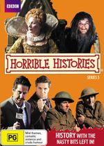 Horrible Histories : Series 3 - Laurence Rickard
