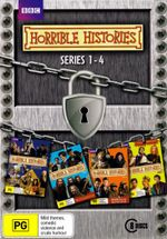 Horrible Histories : Series 1-4 (Box Set) (8 Discs) - Mathew Baynton