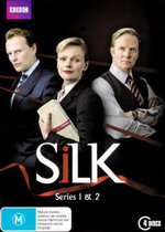 Silk : Season 1 and 2 Boxset (4 Discs) - Tom Hughes