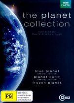 The Planet Collection (Blue Planet/Planet Earth/ Frozen Planet) (13 Discs) - David Attenborough