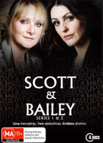Scott and Bailey : Series 1-2 Box Set (4 Discs) - Nicholas Gleaves
