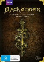 Black Adder : Complete Collection - Remastered (NP) (6 Discs) - Patsy Byrne