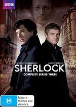 Sherlock : Series 3 - Benedict Cumberbatch