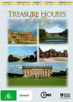 Treasure Houses of Britain (Holkham Hall / Boughton House / Burghley House / Blenheim Palace / Chatsworth) - Selina Scott