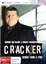 Cracker : Series 4 and 5 (2 Discs) - Robbie Coltrane