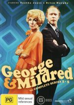 George And Mildred : Series 1 - 5  Complete Collection - Nicholas Bond-Owen