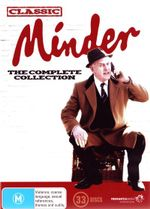 Minder : The Complete Series - Glynn Edwards