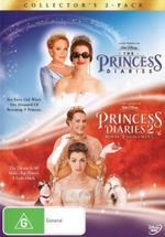 The Princess Diaries / The Princess Diaries 2 (Collector's 2-Pack) - Mandy Moore