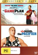 The Game Plan / Pacifier - Vin Diesel