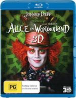 Alice In Wonderland (2010) (Blu-ray 3D) - Johnny Depp