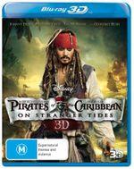 Pirates of the Caribbean : On Stranger Tides (3D Blu-ray) - Johnny Depp
