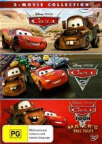 Cars Triple Pack (Cars / Cars 2 / Carstoons) - Larry The Cable Guy