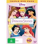 Disney Princess Stories : Volumes 1 -3 (3 Discs)