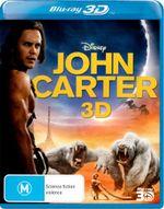 John Carter  : 3D Blu-Ray - Taylor Kitsch
