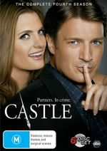 Castle : Season 4 (6 Discs) - Nathan Fillionn