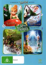 Tinker Bell  Quad Pack (4 Discs) - Lucy Hale
