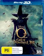 Oz The Great and Powerful (3D Blu-ray) - James Franco