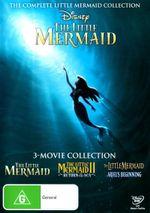 The Little Mermaid Trilogy (The Little Mermaid / The Little Mermaid II : Return to the Sea / The Little Mermaid: Ariel's Beginning) - Jason Marin