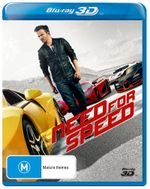Need for Speed (3D Blu-ray) - Aaron Paul